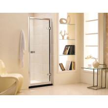 Salle de douche standard en verre trempé d'Australie avec porte coulissante (M1)