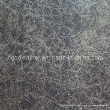 High Quality Breathable PU Furniture Leather (QDL-FB0020)