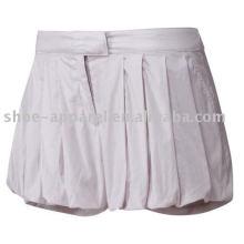 Falda de tenis blanca de nuevo diseño 2013