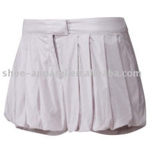 Saia de tênis branco novo design 2013
