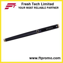 Рекламная алюминиевая ручка с шариковой ручкой