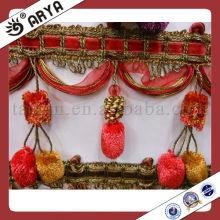 Pom Pom Ball Fransen für Vorhang, Hersteller