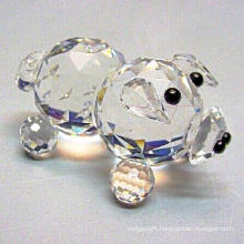Crystal Small Clear Pig for Promotion Gifts