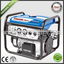 2.3KW / 6.5HP TG2700SE Бензиновые генераторы Комплект мотоциклетного глушителя Напряжение и токовый измеритель