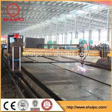 SHUIPO 2017 cnc machine de découpe au plasma métallique avec haute précision et de haute qualité