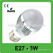 Lumière spot LED 3W MR16 haute luminosité / 3W GU10 E27 spot spot