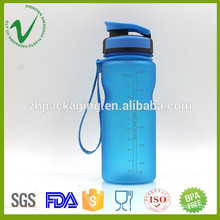 Heat resistant customized color BPA Free empty 600 ml wide mouth plastic bottle