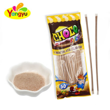 Powder Candy Supplier Sweet Chocolate Flavor Powder Stick Candy