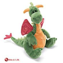 custom promotional stuffed dragon