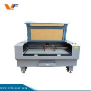 Máquina de corte do laser das plataformas da grade de alumínio