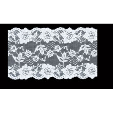 Newest Cotton Nylon Lace Fabric/ crochet lace edging for Banquet dress