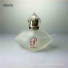 Nouvelle bouteille de parfum de conception avec glaçage