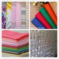 100% tela de algodón / tela/polivinílico-algodón tela T/C/algodón hilado de lino tela impresa / tela polivinílica