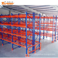 Powder coated heavy duty steel pallet storage racks