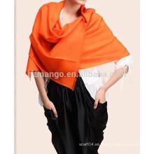 Chales de pashmina de lana estilo simple de las señoras