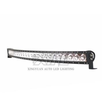 50Inch Car Parts LED work light bar 240W LED Curve Light Bar Spot Flood Beam 12V 24V Auxiliary Driving light
