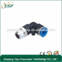 ESP pneumático one-touch macho feminino mini 90 graus cotovelo acessórios para tubos