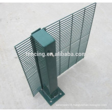 358 mesh fence/ Powder Coated Galvanized High Security Anti-climb 358 Mesh Fence ( factory price)