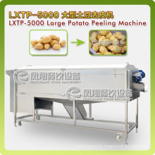 Super-Huge Type Spiral Vegetable Washer&Peeler, Potatoes Washing, Peeling Machine Lxtp-5000