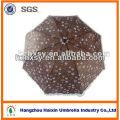 Шоколадный Цвет Всего Тела 3 Складной Зонтик Зонтик
