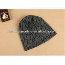 Fashion printing knitted hat