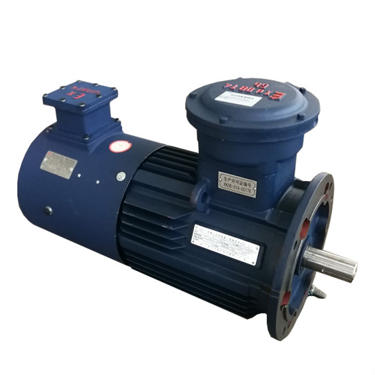 YB3 Explosion Proof B5 Mounted Geared Motor