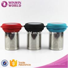 Chá fraco de aço inoxidável relativo à promoção Infuser / filtro / filtro do produto comestível de FDA do presente do Natal