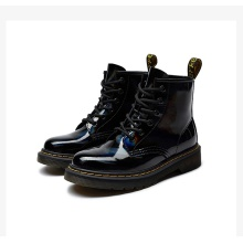2021 Hot Sale leather martens flat winter women's boots