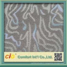 Tissu jacquard de navette avec collage