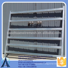 Rails: 80mm x 40mm x 1.6mm cattle fencing panels metal fence