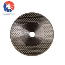 High quality PVC pipe cutting electroplated diamond saw blade