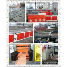 Máquina de extrusão de perfil plástico PVC WPC