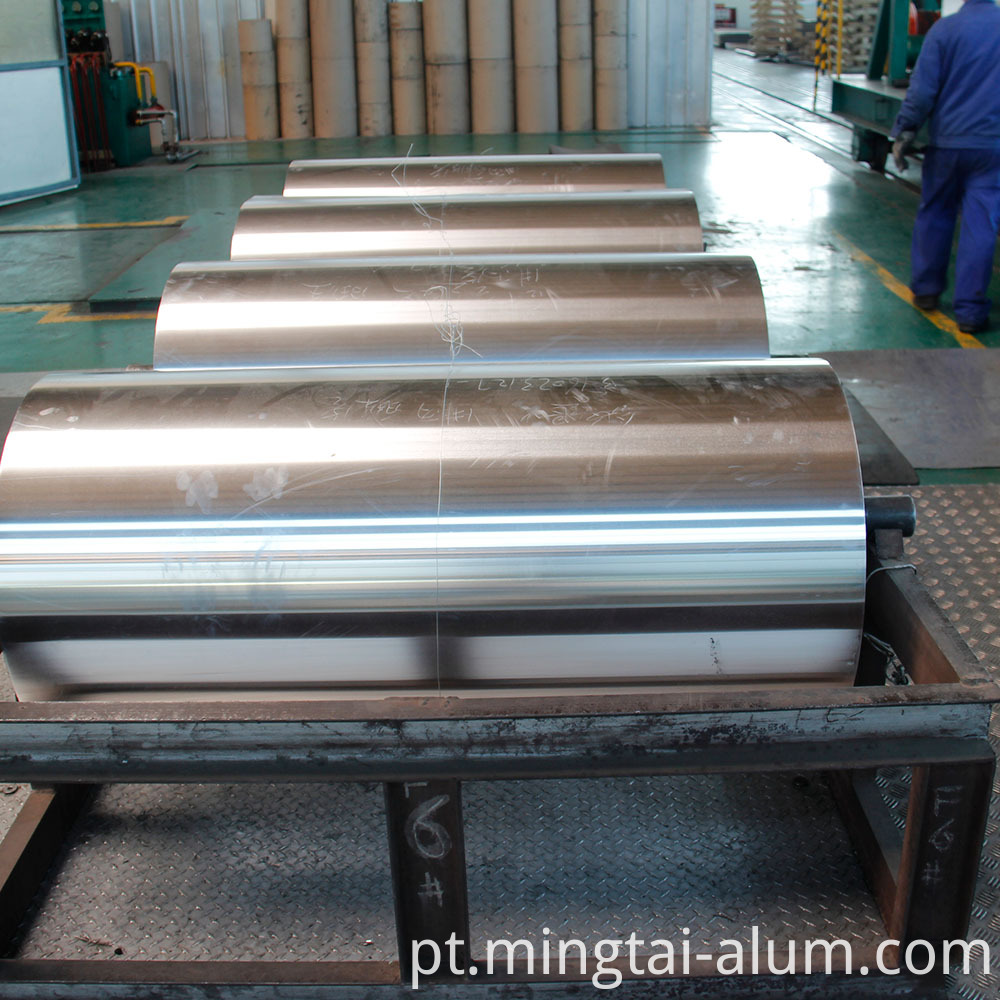 Aluminium Foil 50 Micron with Alloy 8021 for manufacturing of Cold Forming Foil manufacturers China