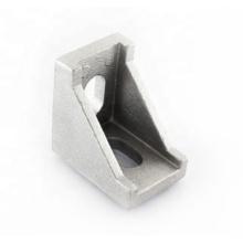 Wholesale Customized Aluminium Die Casting Process T Slot Connectors Corner Bracket