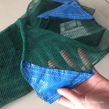 virgin hdpe material 6x12m 92g gsm weight green olive rachel collect net