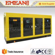 Groupe électrogène diesel électrique 220kw silencieux / ouvert de groupe électrogène diesel Prix