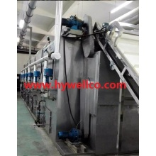 Customized for China Drying Machine, Fruit Drying Machine, Spin Flashing Dryer, Rotary Flash Dryer, Belt Type Dryer Supplier High Efficiency Conveyor Mesh Belt Dryer for Vegetable supply to Bulgaria Importers