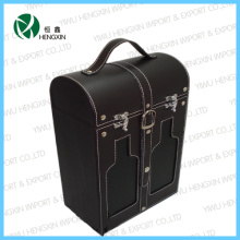 Hot Sale PU Leather Wine Box (HX-PW015)