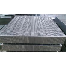 Núcleos de enfriador de aluminio de placa y barra