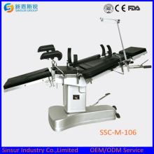 China Competitive Manual Orthopedic Общее использование Хирургический операционный стол