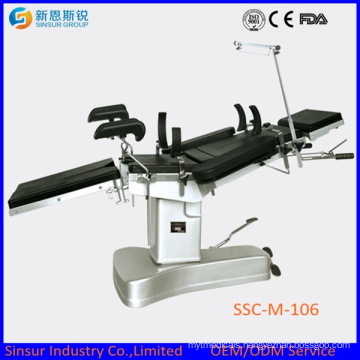 Manual Hospital Ot Multi-Function Hydraulic Operating Surgical Table