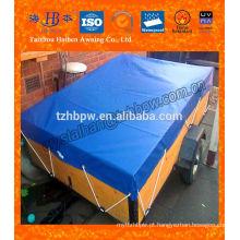 Fireproof 400g-700g capa verde Tarpaulin com preço competitivo