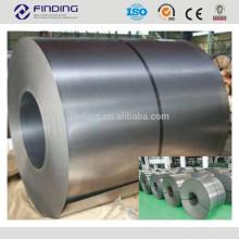 Alto frio de revestimento de zinco de qualidade rolamento 1200mm largura bobina de aço galvanizado com certificação