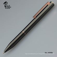 Atacado Office Supply Twist Open Metal Ball Pen
