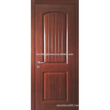 Prefinished Teak Veneered Molded Door