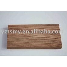 amostra de madeira
