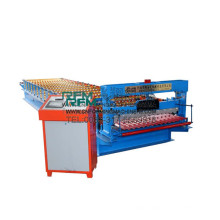 FX corrugated plate color galvanized metal steel roof panel machine