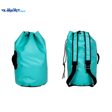 420d Young Sports Fluorescent Blue Waterproof Backpack