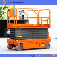 Fabricante de elevador de tijera de batería China