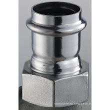 54*2 3/8 En 316 Ss Pipe Fittings (Straight Adapter Female)